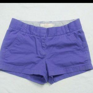 J. Crew Chino Purple Short Size : 2